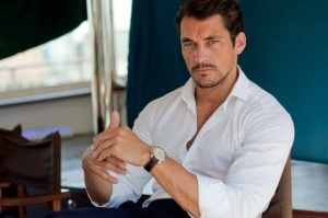 david gandy looking sultry