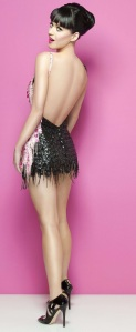 sequin mini skirt escort marbella