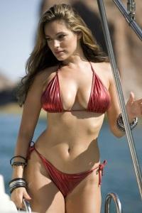 escort marbella red bikini
