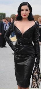 escort marbella dita in leather