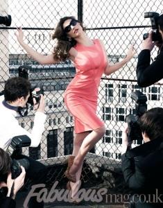 pink dress escort marbella