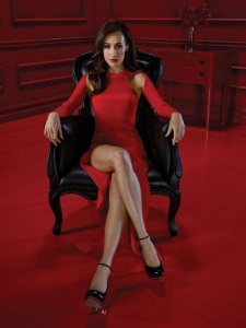 red dress throne escort marbella